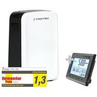 TROTEC Luftavfuktare TTK 71 E + CO2-Luftkvalitetsmonitor BZ25