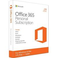 Microsoft Office 365 Personal 1yr Subscription Engelsk (QQ2-00543)