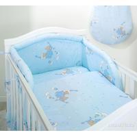 Mamma-Pappa Sängkläder och sängskydd, Sovande nallar på moln, 3 delar