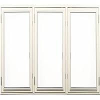 Outline DF3 19-13 Trä Sidohängt fönster 190x130cm