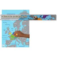 Scratch Map / Karta Europa