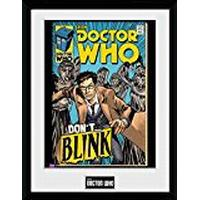 GB Eye Doctor Who Weeping Angel Comic 30x40cm Plakater