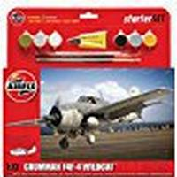 Airfix 1:72 Scale Grumman F4F-4 Wildcat Starter Set Model Kit