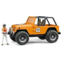 Bruder Jeep Cross Country Racer with Driver 02542