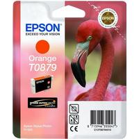 Epson T0879 orange bläckpatron 11,4 ml original Epson C13T08794010