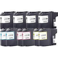 Rabatt! Brother LC223 4xBK, 2 x C / M / Y bläckpatroner kompatibel (10)