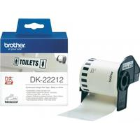 Brother DK22212 permanent tejp 6,2 cm x 15,2 original
