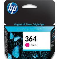 HP 364 magenta bläckpatron 3 ml original HP CB319EE