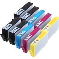 Rabatt! HP 364XL 4xBK + 2xC/M/Y 190 ml kompatibel 10 st.