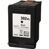 HP 302XL svart bläckpatron 18ml kompatibel HP F6U68AE