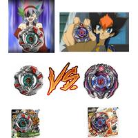 Takara Beyblade Start Set Ifraid vs Begirados