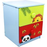 Teamson Fantasy Fields Sunny Safari 2 Drawer Cabinet