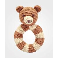 NatureZoo Mr.Teddy Ring Rattle
