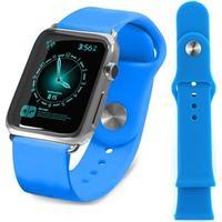 Tuff-Luv Apple Watch Tuff-luv Silikone Armbånd - 38mm - Blå