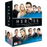 Heroes: Complete series (17Blu-ray) (Blu-Ray 2015)