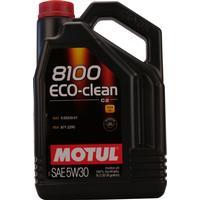 Motul Motor Oil 8100 Eco-Clean 5W-30