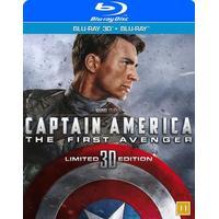 Captain America: The first avenger 3D (Blu-ray 3D + Blu-ray) (3D Blu-Ray 2011)