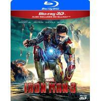 Iron Man 3 D (Blu-ray 3D + Blu-ray) (3D Blu-Ray 2013)
