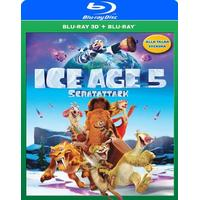 Ice age 5 - Scratattack 3D (Blu-ray 3D + Blu-ray) (3D Blu-Ray 2016)