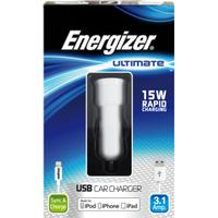 Energizer Ultimate iPhone 5/6 | 2in1 Billaddare 3.1Amp.