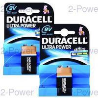 Duracell Ultra Power 9V 2-Pack