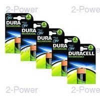 Duracell Uppladdningsbara 9v 5-Pack