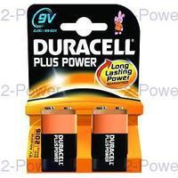 Duracell Plus Power 9V 2-Pack