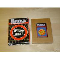 MSX - Spread Sheet, kassett, Nytt!