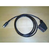 MSX 2 - RGB Scart kabel Sony HB-F700 Turbo-R Sanyo WAY MSX2+, Nytt!