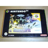 Nintendo 64 - Star Wars Shadows of The Empire, Nytt!