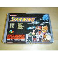 Super Nintendo - Starwing Komplett, Begagnad