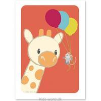 Studio Circus Giraffe Balloons A4