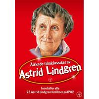Astrid Lindgren: Boxen med alla filmer (23DVD) (DVD 2015)