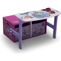 Delta Children Frozen 3-in-1 Storage Bench & Desk