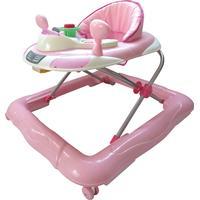 Basson Baby lära-gå-stol, rosa