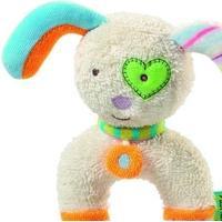 Baby Fehn Babyskallra kanin i froté