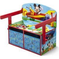 Delta Children Mickey Mouse 3-in-1 Storage Bench & Desk