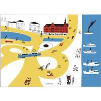 Olle Eksell Slussen 1939 50x70 Affisch