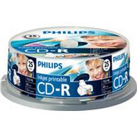 Philips CD-R 700MB 52x Spindle 25-Pack Inkjet