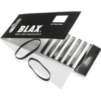 Blax Snag-Free Hair Elastics Black 8-pack