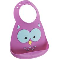 Make My Day What a Hoot Owl Baby Bib