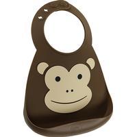 Make My Day Monkey Business Baby Bib