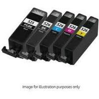 Paket 5st miljöpatroner till Canon: 4st CLI-526 och 1st PGI-525