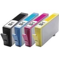 Paket 4st kompatibla bläckpatroner till HP 364XL (CN684EE)