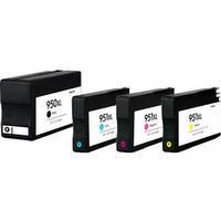 Paket 4st miljöpatroner till HP 950XL + 3st HP 951XL (C2P43AE)