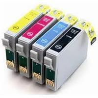 Paket 4st kompatibla patroner till Epson T1295 (C13T12954012)