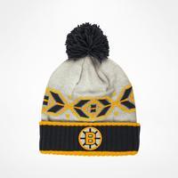 CCM Boston Bruins Retro Cuffed Pom Beanie