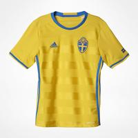 Adidas Sweden Home Jersey 16 Youth
