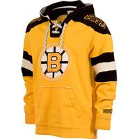 CCM Boston Bruins Retro Pullover Lace Hood