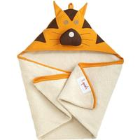 3 Sprouts Tiger Hooded Towel